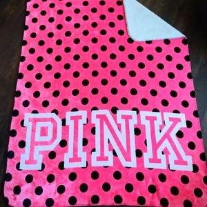 RARE VS Pink! Sherpa Blanket